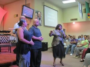 Pat Ashley Ministering